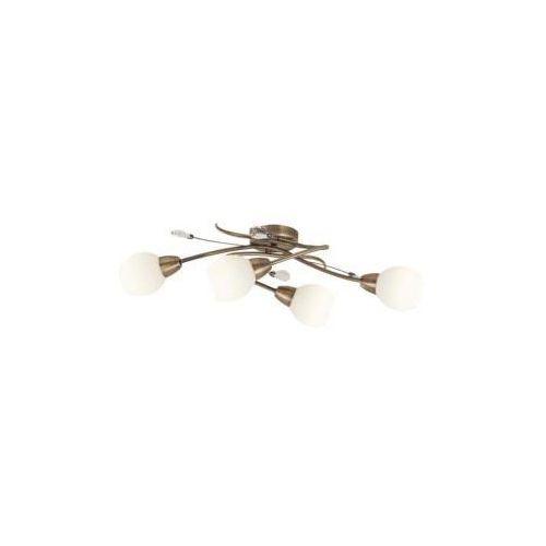 Rabalux Lampa sufitowa emily 4x40w brązowy