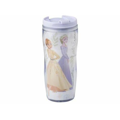 DISNEY Kubek / Bidon Frozen II Herbal z wymienną dekoracją 400 ml 35261