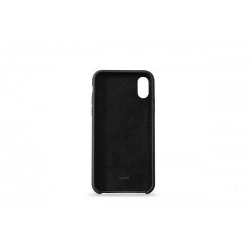 silicone case kmp do iphone x czarne marki Kmp