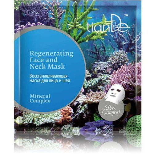 """Maseczka regenerująca na twarz i szyję """"kompleks mineralny"""", 35 g marki Tiande"""