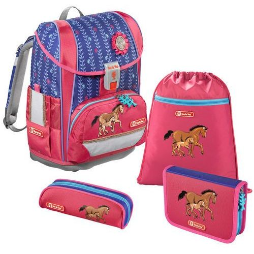 Step by Step Light 2 tornister szkolny zestaw 4-częściowy / Lucky Horse - Lucky Horse, kolor wielokolorowy