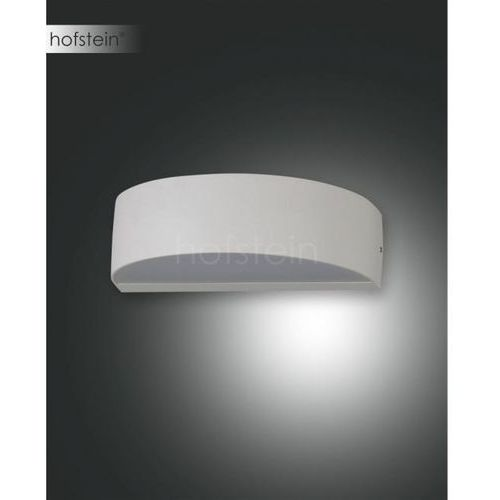 Fabas Luce Wapi Zewnętrzny kinkiet LED Srebrny, 1-punktowy - Nowoczesny - Obszar zewnętrzny - Wapi - Czas dostawy: od 10-14 dni roboczych (8019282076360)