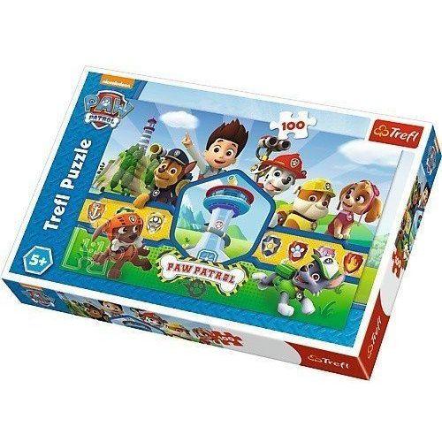 Puzzle 100 elementów - Psi Patrol, Bohaterska drużyna