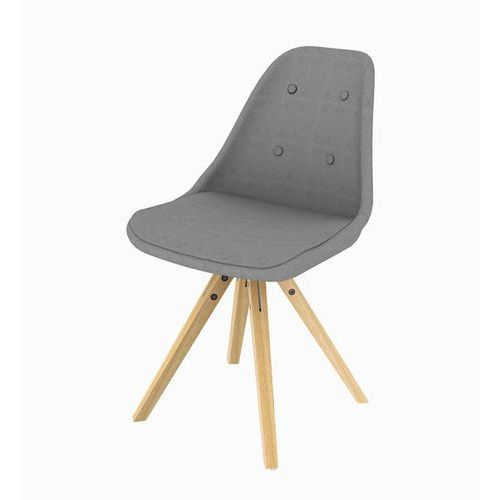 Nowoczesne krzesło Stars Mix - szary z kategorii Krzesła