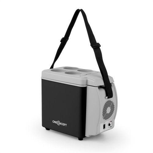 oneConcept Roadtrip mini lódowka termiczna 6l 12V adapter auto czarna