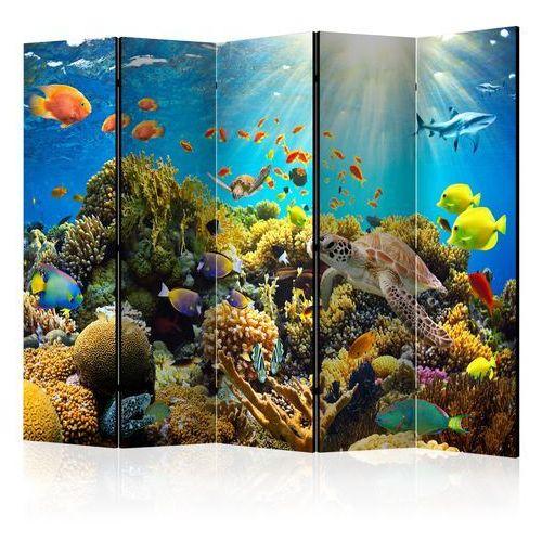 Artgeist Parawan 5-częściowy - podwodny świat ii [room dividers]