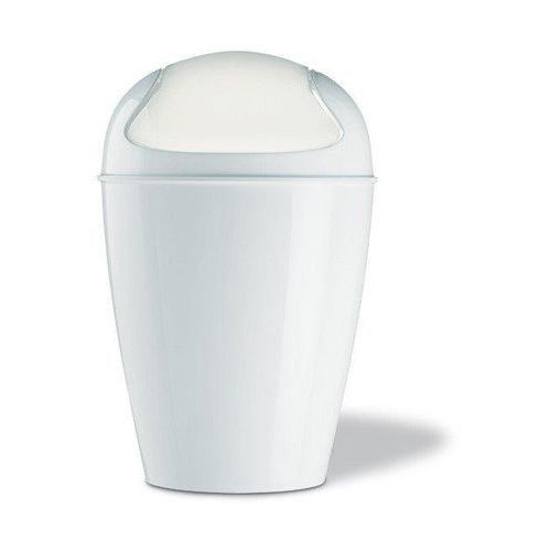 Kosz na śmieci biały del m kz-5775525 marki Koziol