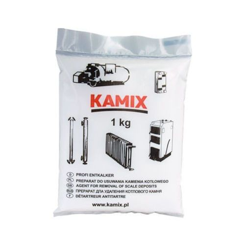 KAMIX 1kg Preparat do usuwania kamienia kotłowego