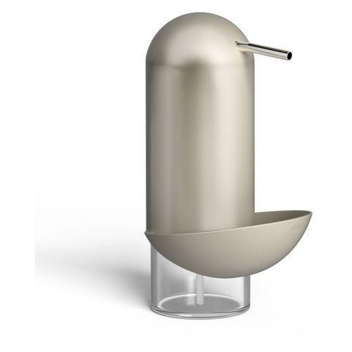 Umbra - Dozownik na płyn i gąbkę do mycia naczyń Penguin - nikiel