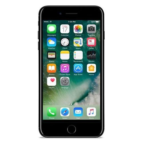 Puro Etui nude do iphone 7 przezroczysto-czarny (8033830172908)