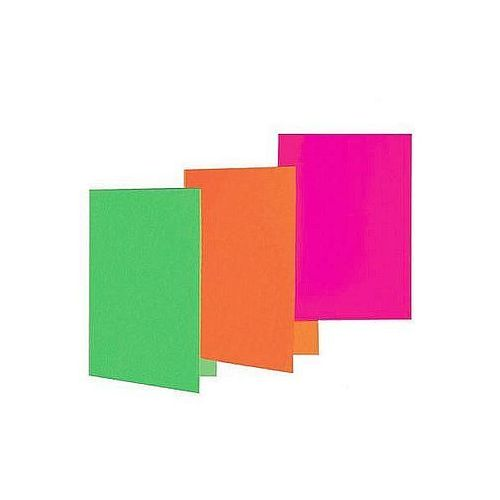 Okładki na dokumenty a4 karton 230g żółte, 5szt. marki Datura