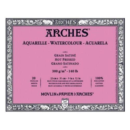 arches® papier akwarelowy 23x31/12 satine marki Canson