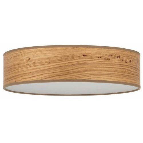 Plafon LAMPA sufitowa OCHO SLIM 5902429648236 Sotto Luce okrągła OPRAWA drewniana (5902429648236)