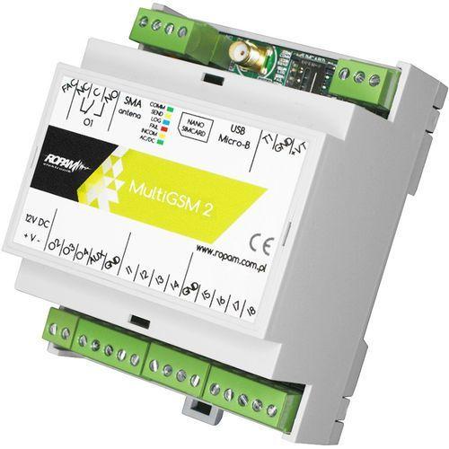 Moduł powiadomienia i sterownia GSM Ropam MultiGSM-D4M-2