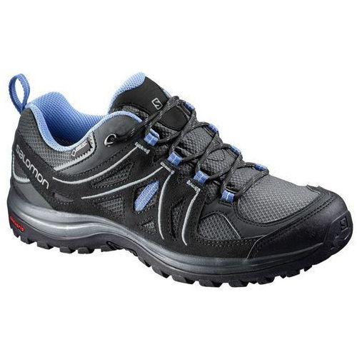 Buty trekkingowe damskie  ellipse 2 gtx gore-tex (381629) - czarny/niebieski marki Salomon