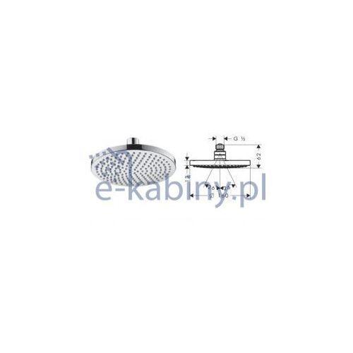 Hansgrohe croma 100 głowica talerzowa croma 160 z przegubem kulowym dn15 27450000