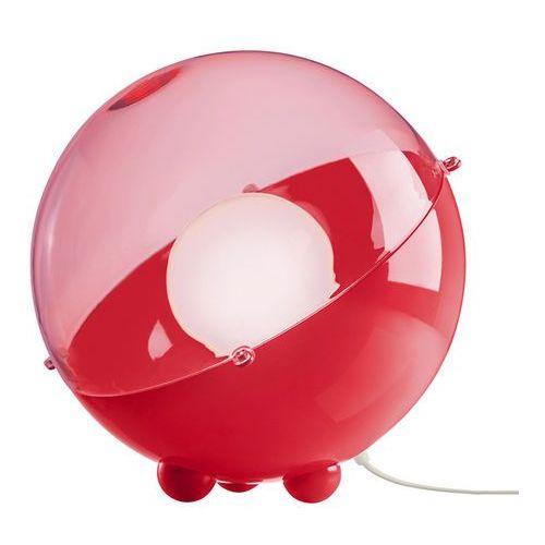 ORION - Lampa stojąca Czerwony/Czerwony przezroczysty Śr.32,9cm