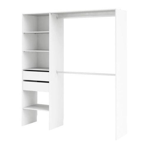 Garderoba Form Zodiak 200 x 181 x 45 cm biała