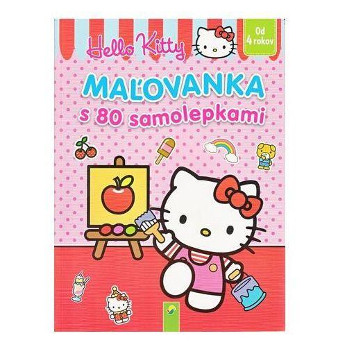 Maľovanka s 80 samolepkami (Hello Kitty) autor neuvedený (9783849905453)