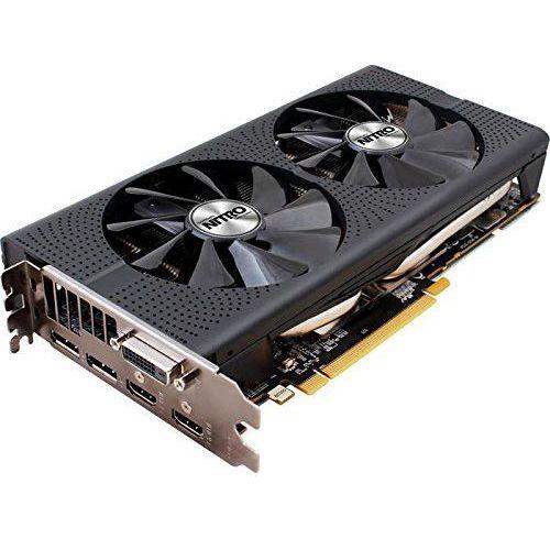 OKAZJA - Karta graficzna Sapphire AMD Radeon RX 480 Nitro+ 4 GB GDDR5-RAM PCIe x16 HDMI™, DVI, DisplayPort (4895106280014)