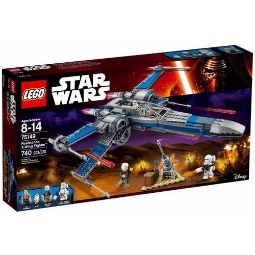 Lego STAR WARS Resistance x-wing fighter 75149 rabat 2%