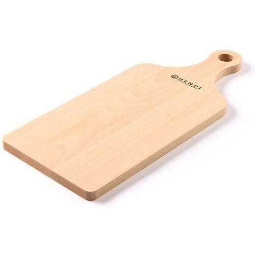 Hendi OUTLET - Drewniana deska do krojenia z uchwytem | 390x160mm - kod Product ID