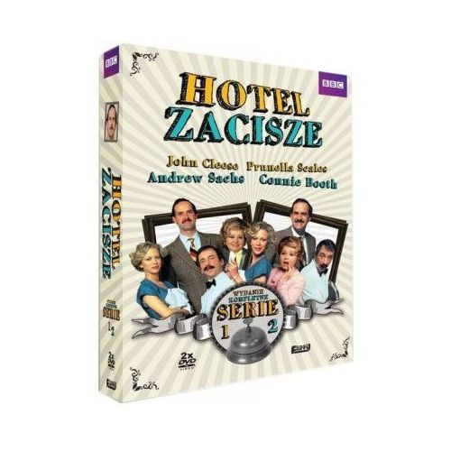 Film BEST FILM Hotel Zacisze (Seria 1 i 2) BOX Fawlty Towers