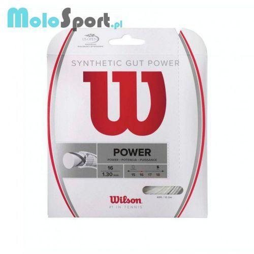 Naciąg Wilson Synthetic Gut Power 15 - sprawdź w wybranym sklepie