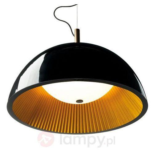 umbrella lampa wisząca czarny, złoty, 3-punktowe - nowoczesny - obszar wewnętrzny - umbrella - czas dostawy: od 2-3 tygodni marki Leds-c4