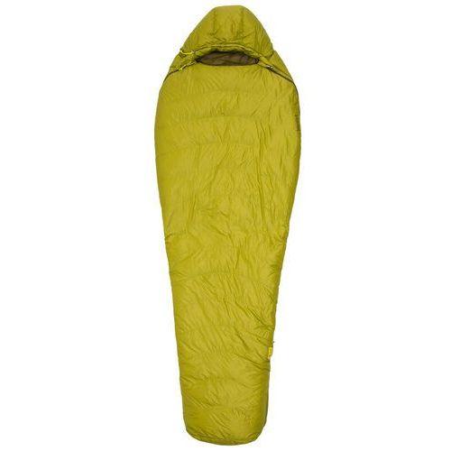 Marmot Hydrogen Sleeping Bag regular, dark citron/olive Left 2019 Śpiwory (0889169001055)