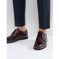 plus toe cap derby shoes - red, Original penguin