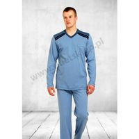 Piżama męska BIG LOLO dł jeans 344 M-max, w 2 rozmiarach