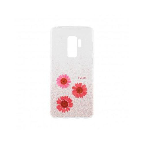 Etui iplate real flower gloria do samsung galaxy s9 różowy (31550) marki Flavr