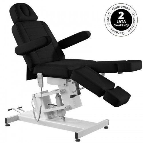 Activeshop Fotel kosmetyczny elektr. azzurro 706 pedi 1 siln. czarny