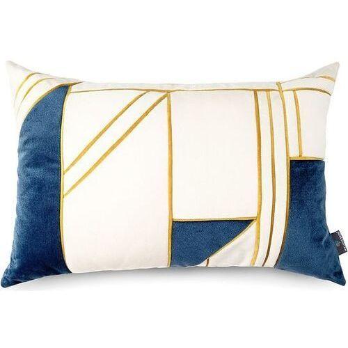 Welurowa poszewka na poduszkę new york, prostokątna - marki We love beds