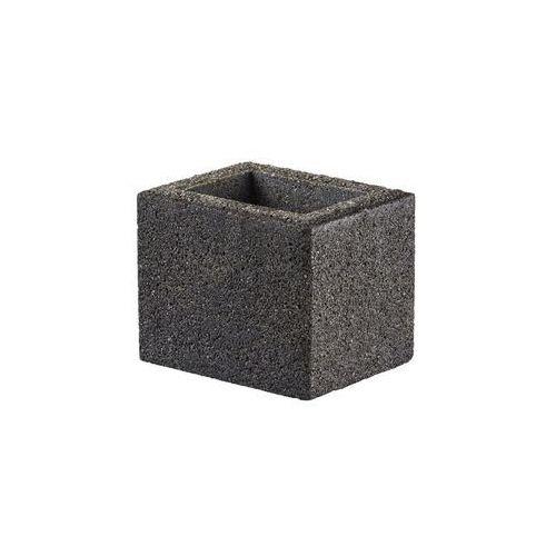 Bloczek słupkowy 25.2 x 20 x 20 cm betonowy beskid marki Joniec