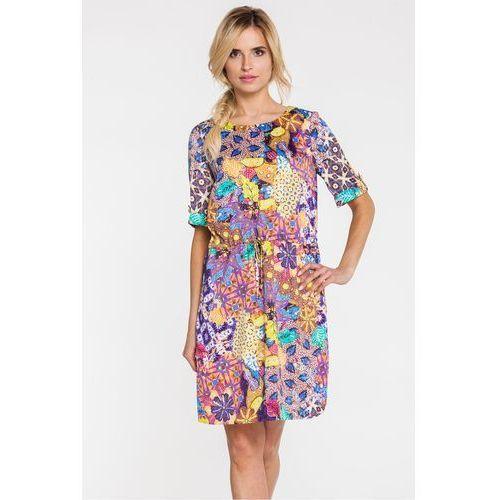 Letnia sukienka w stylu boho - Potis & Verso, 1 rozmiar