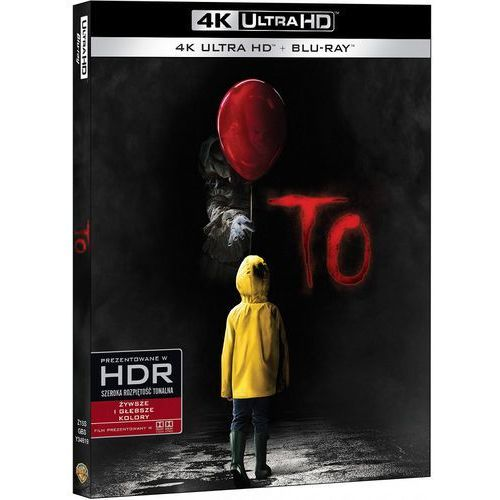 Stephen Kings: To (4K Blu-ray) - Andy Muschietti DARMOWA DOSTAWA KIOSK RUCHU
