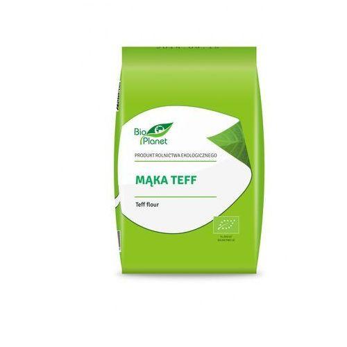 Mąka teff bio 400 g - bio planet marki Bio planet - seria mąki i skrobie