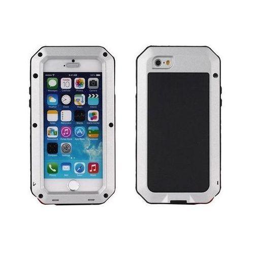 E-webmarket Aluminiowe etui zbroja dla iphone 7 - srebrne - srebrny \ iphone 7