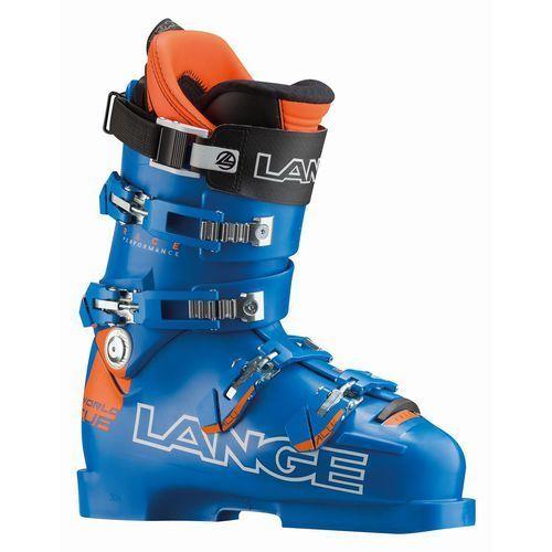 Buty narciarskie world cup rp zj+ niebieski/pomarańczowa 22.5 marki Lange