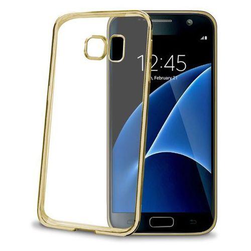 Etui CELLY Bumper BCLGS7GD do Galaxy S7 Złoty (Futerał telefoniczny)