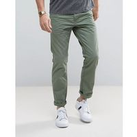 Esprit 5 Pocket Casual Trousers in Khaki - Green