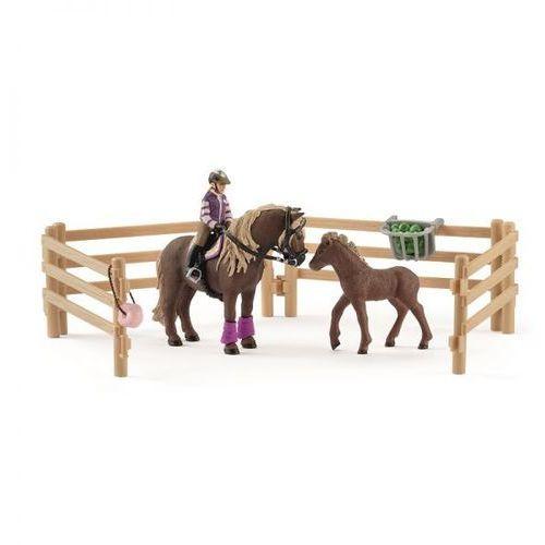 jeździec z kucykami islandzkimi 42363 marki Schleich