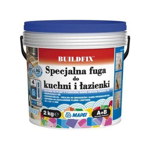 Zaprawa Mapei Buildfix do kuchni i łazienki 112 tytanowa 2 kg (8022452036125)