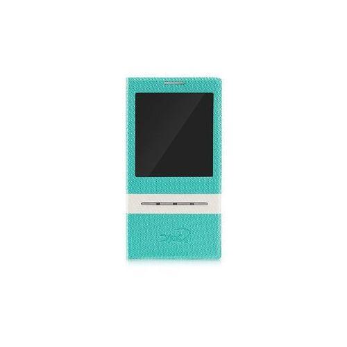 Etui tel.kom.eXc CROCO FIT do Samsung S4, Zielone, kolor zielony