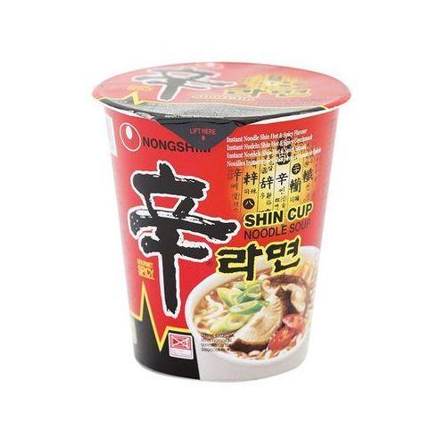 Zupa instant kubek Shin Ramen 75 g Nong Shim - produkt z kategorii- Kuchnie świata