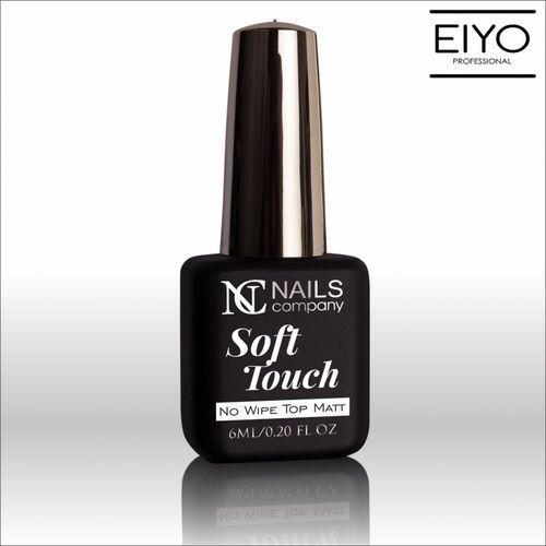 Top soft touch nc aksamitny matowy top bez warstwy dyspersyjnej - 6 ml marki Nails company