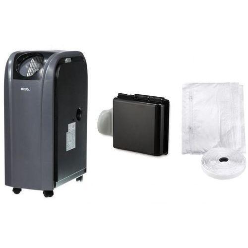 Klimatyzator przenośny super cool fsc16sc wifi ready + uszczelka do okna + plenum + rabat - wydajność ok. 45m2 marki Fral