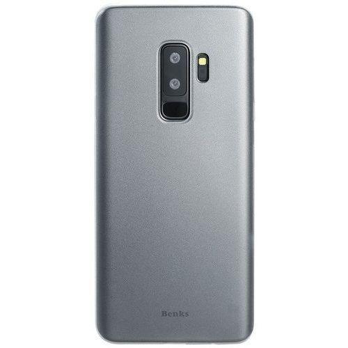 Etui Benks Lollipop 0.4mm Galaxy S9 Plus Transparent White (6948005944087)
